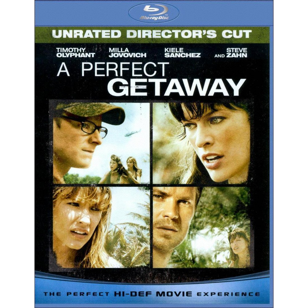 A Perfect Getaway (Unrated/Rated Versions) (Blu-ray