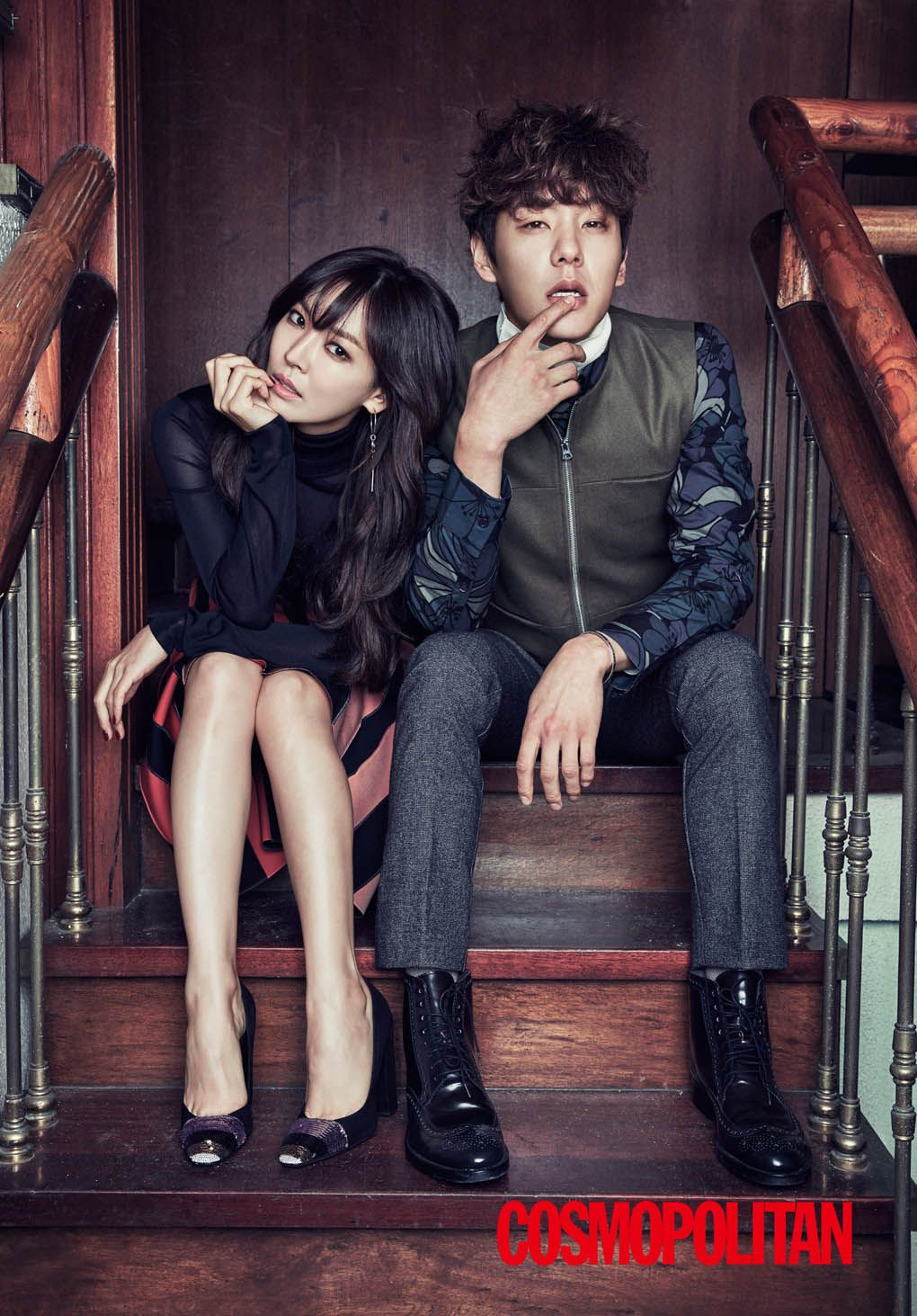 Kwak Si Yang & Kim So Yeon Ooze Chemistry in Cosmopolitan Shoot
