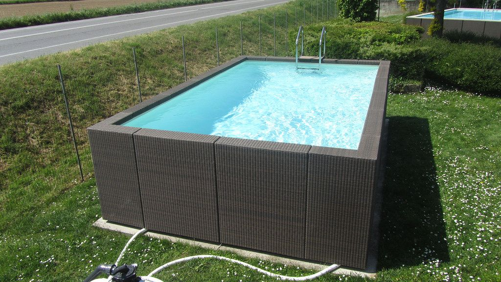 Dolcevita diva color caff 4 diva and rattan for Piscine 3x5
