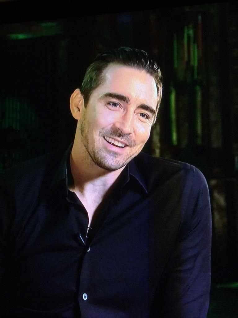 #LeePace.  Screenshot from Marvel's Guardians of the Galaxy Behind the Scenes Movie Interview.