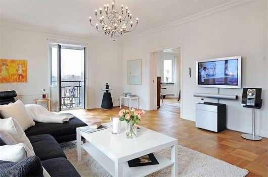 Http Www Ralphhilton Org صاله كنب رمادي Spacious Living Room Apartment Interior Design Home