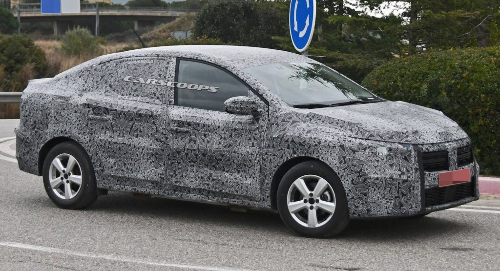 AllNew 2021 Dacia Logan Makes Spy Debut With Fresh Looks