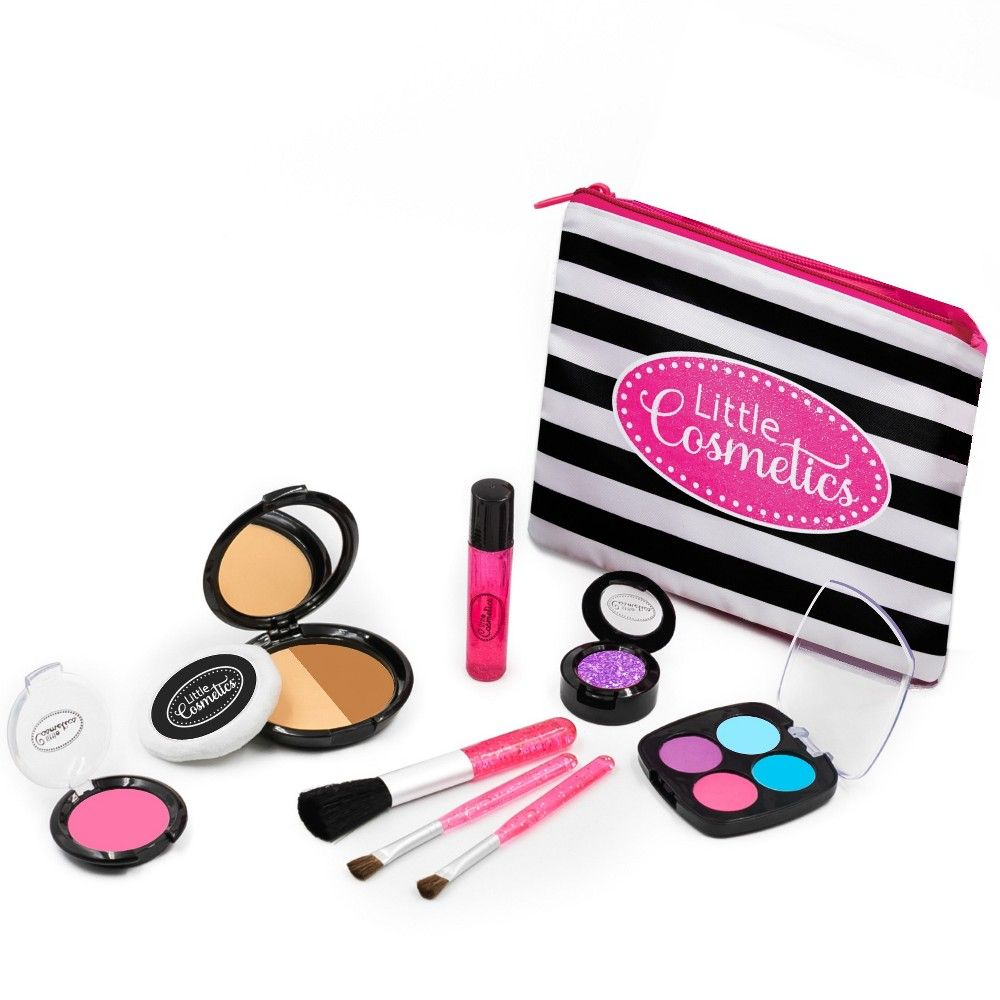 55db4fd1f Little girls won't believe how realistic the Little Cosmetics Pretend Makeup  Essential Set looks and feels! Perfect for little imaginations this fake  play ...