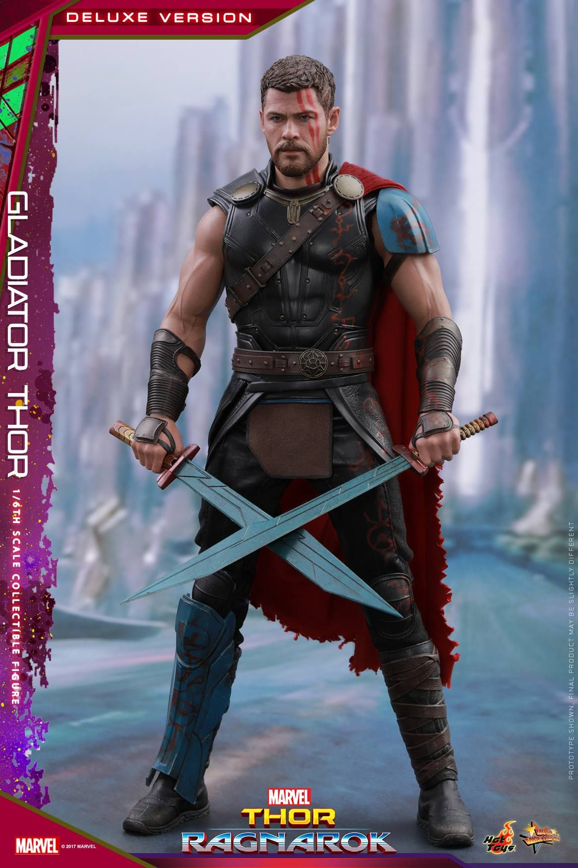 Hot Toys Shows Off Their Gladiator Thor Action Figure From