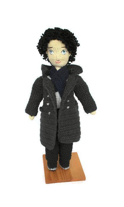 Collection doll Sherlock Holmes Figurine Sherlock BBC Sherlock gift fans Detective Collectible Interior doll Sherlocked Benedict Cumberbatch