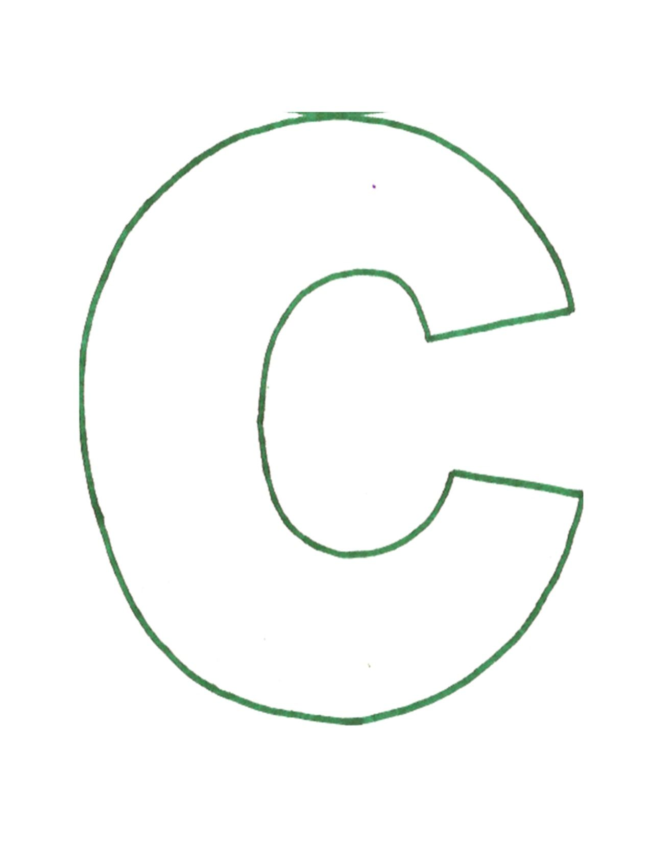 Letter C Pattern Free Download