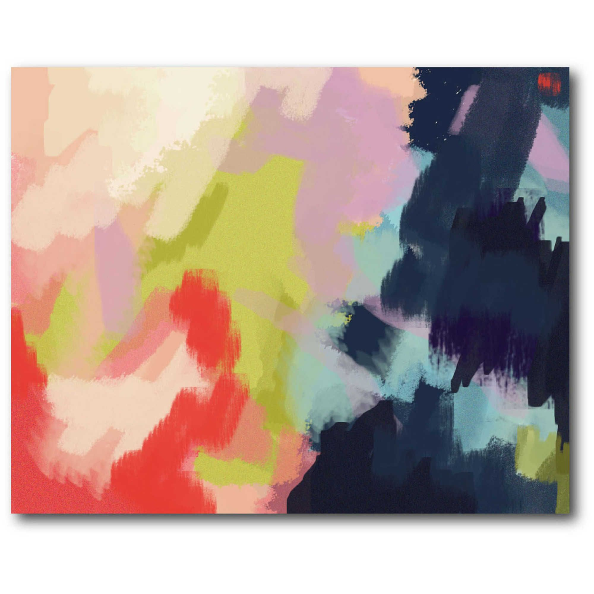 Courtside Market Spring Showers 20-Inch x 16-Inch Canvas Wall Art ...