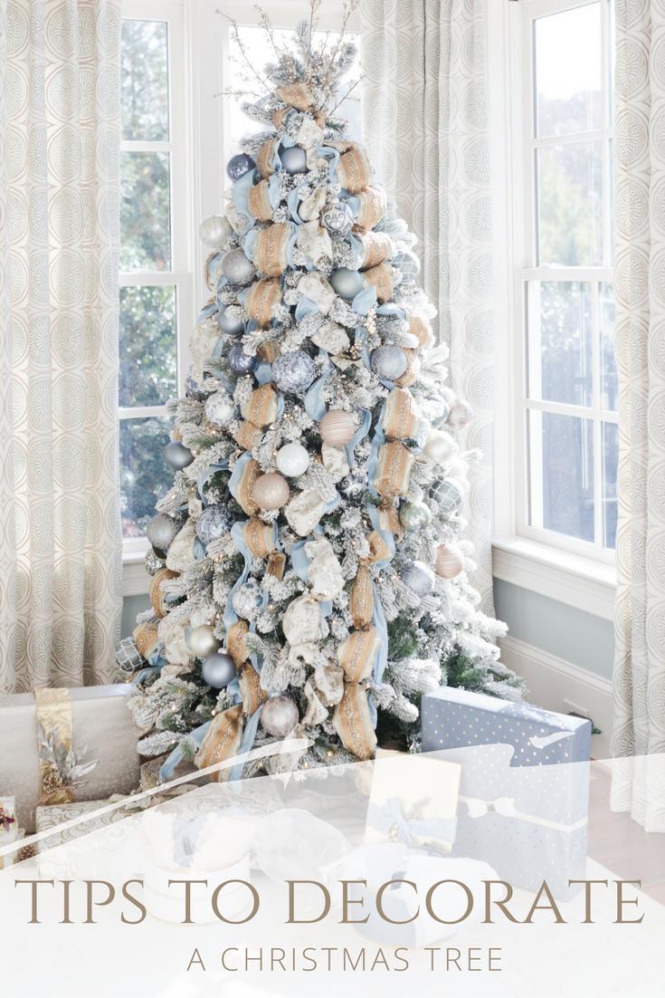 Christmas Tree Decorating Tips Bluegraygal Christmas Tree Decorating Tips Christmas Tree Inspiration Christmas Tree