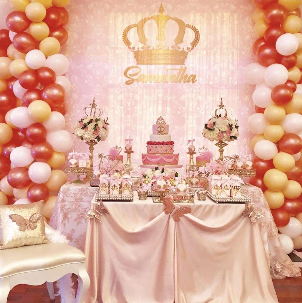 Princess Birthday Party Ideas Princess Party Decorations Princess Birthday Party Princess Birthday