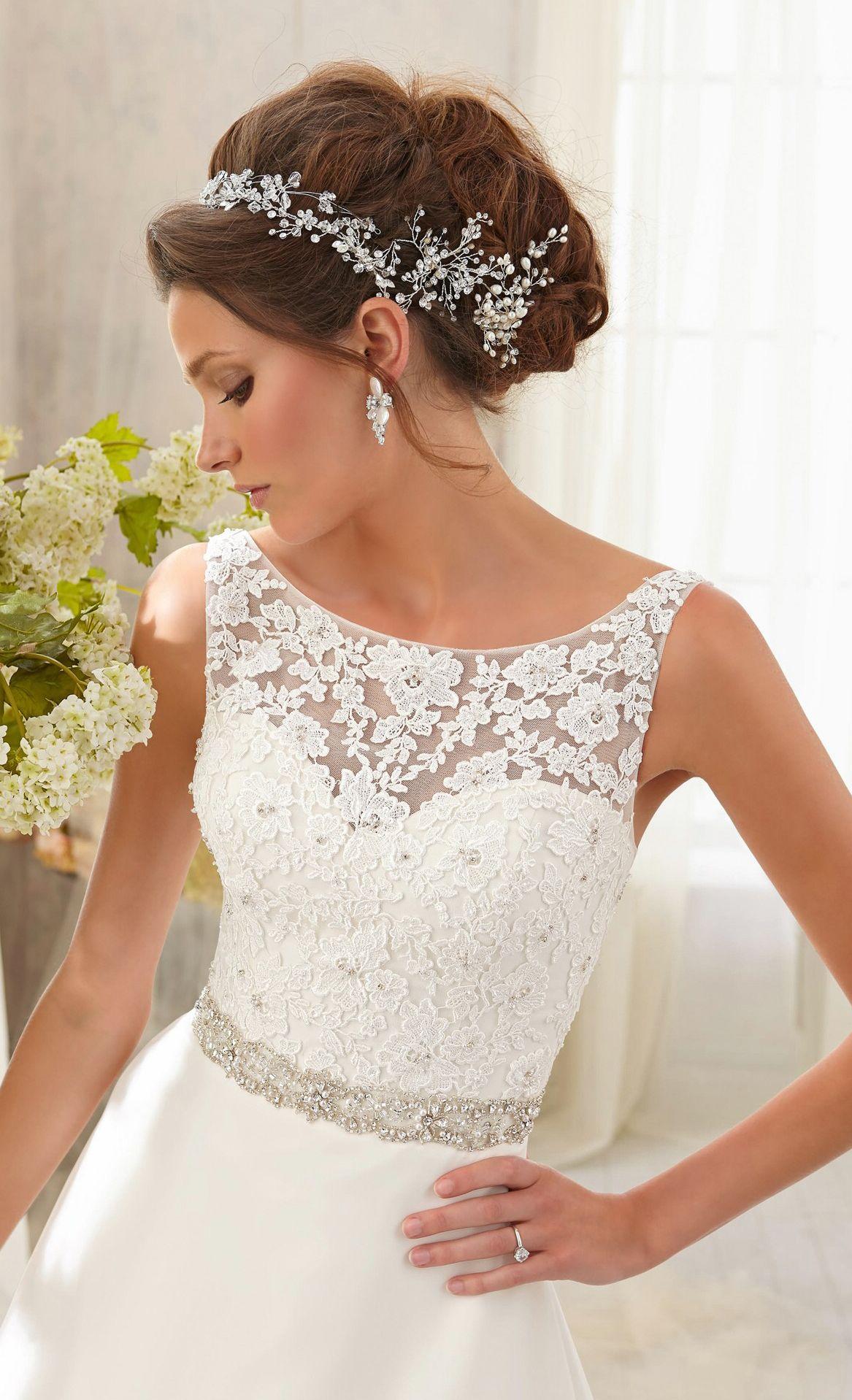Wedding dresses for large busts  Mori Lee   Wedding dress Weddings and Wedding