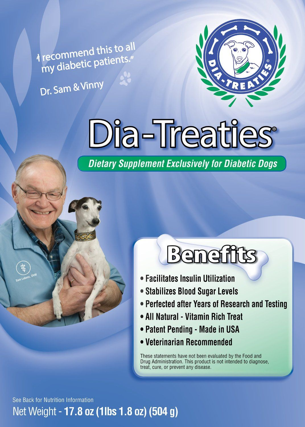 Dia Treaties Dog Owner Invents A Treat That Solves Insulin Swings