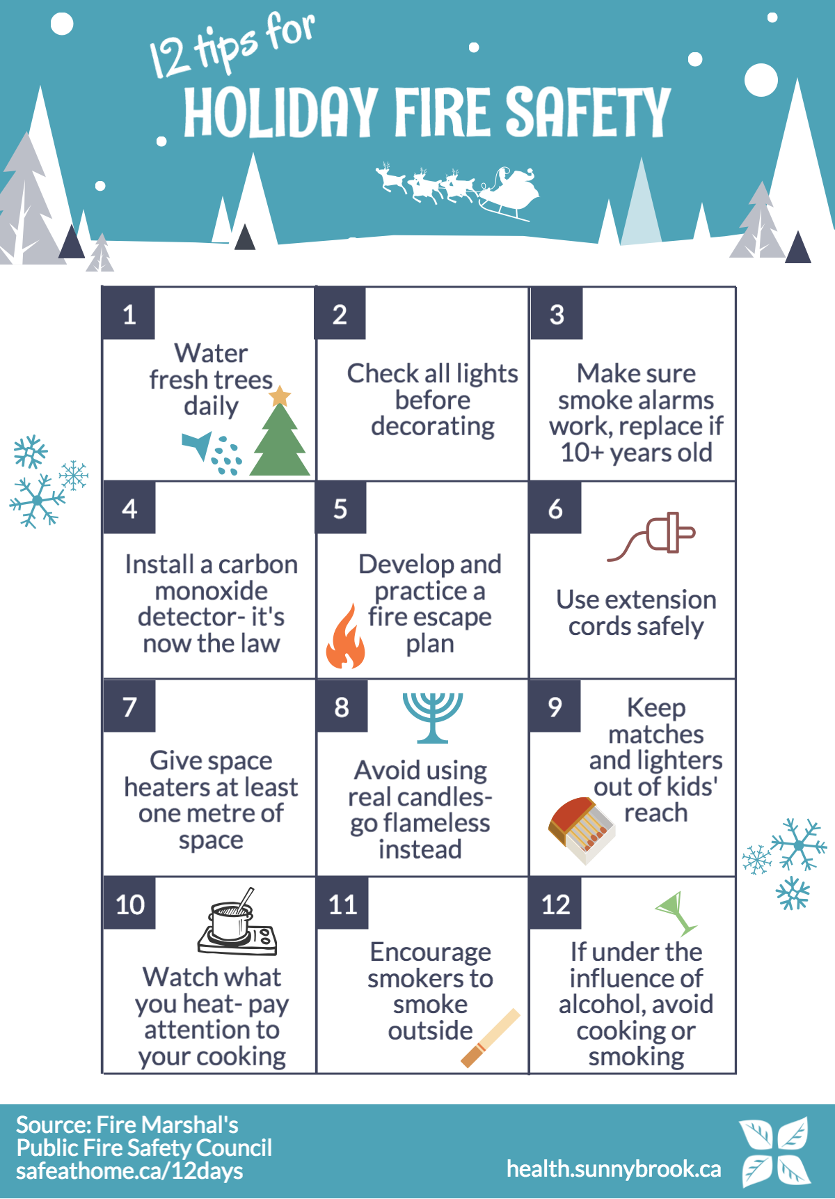 12 fire safety tips for the holidays Fire safety tips
