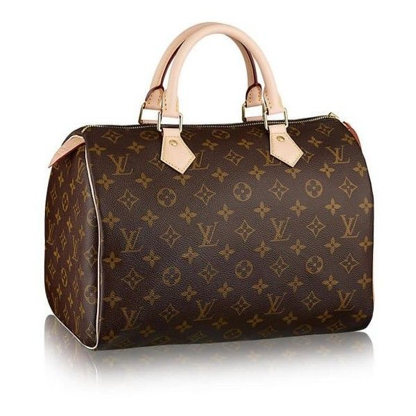 The 7 Most Por Handbags From Louis Vuitton Liked On Polyvore Featuring Bags Purses Brown Purse