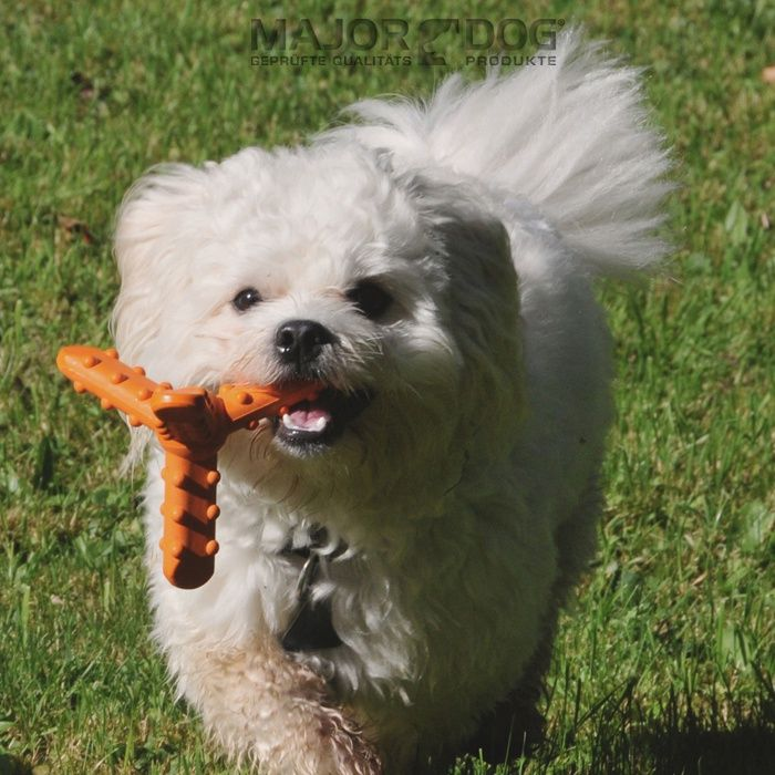 Whirl Dog Toy The Nubs On The Arms Massage Your Dogs Mouth While