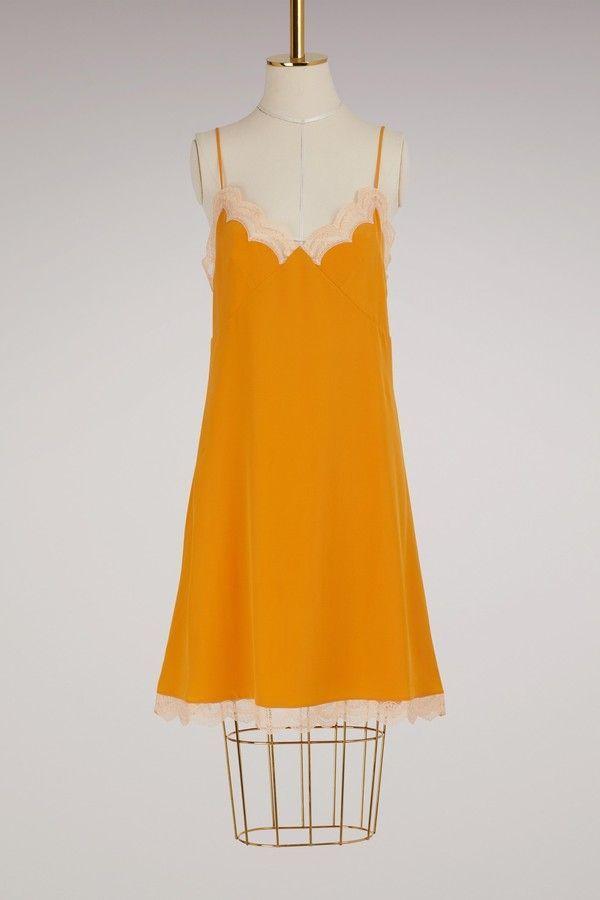 Silk lingerie dress Chlo vSFqvrT