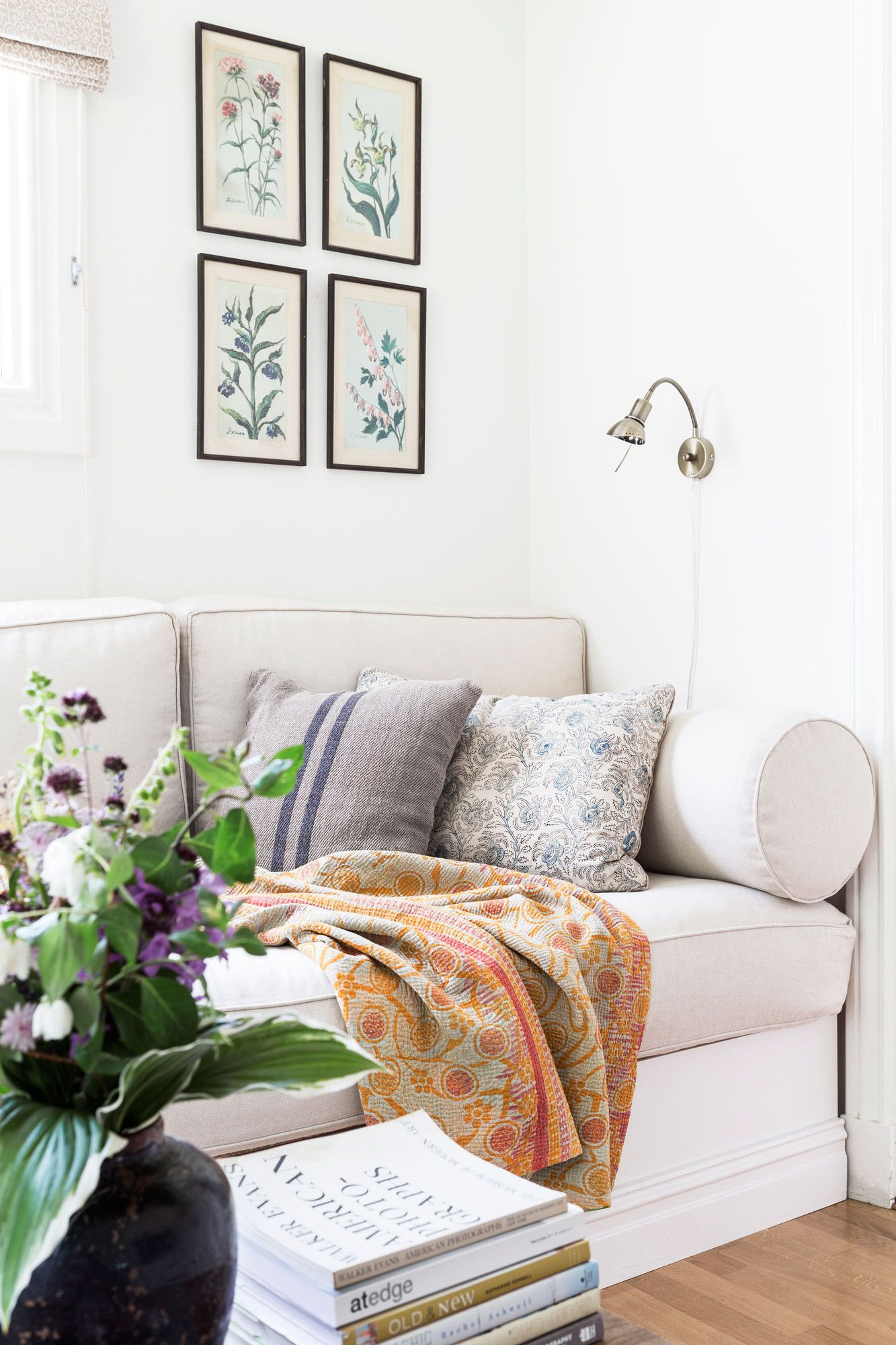 A Summer Cottage in Sweden | Walls, Living rooms and Room