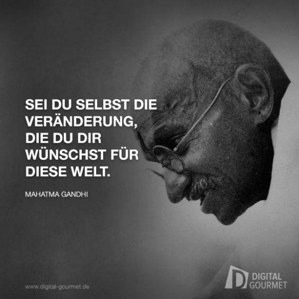 Gandhi Veraenderung Kunst Gandhi Zitate Churchill