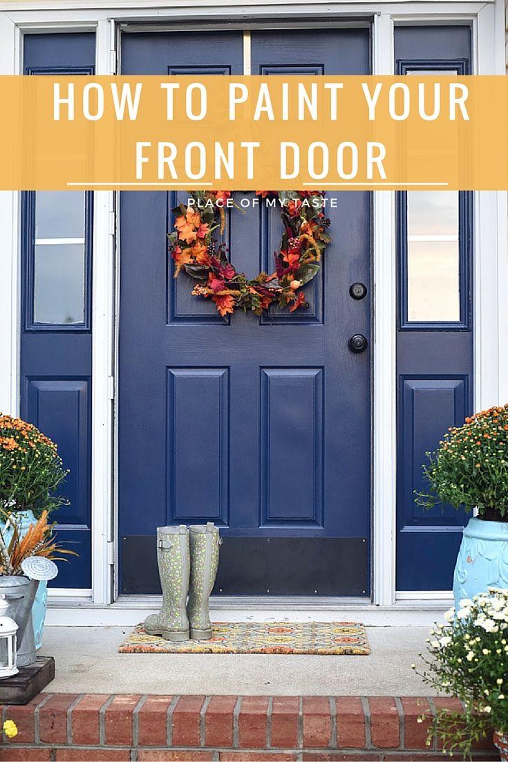 Paint Front Door Front Doors Painted Front Doors And Doors