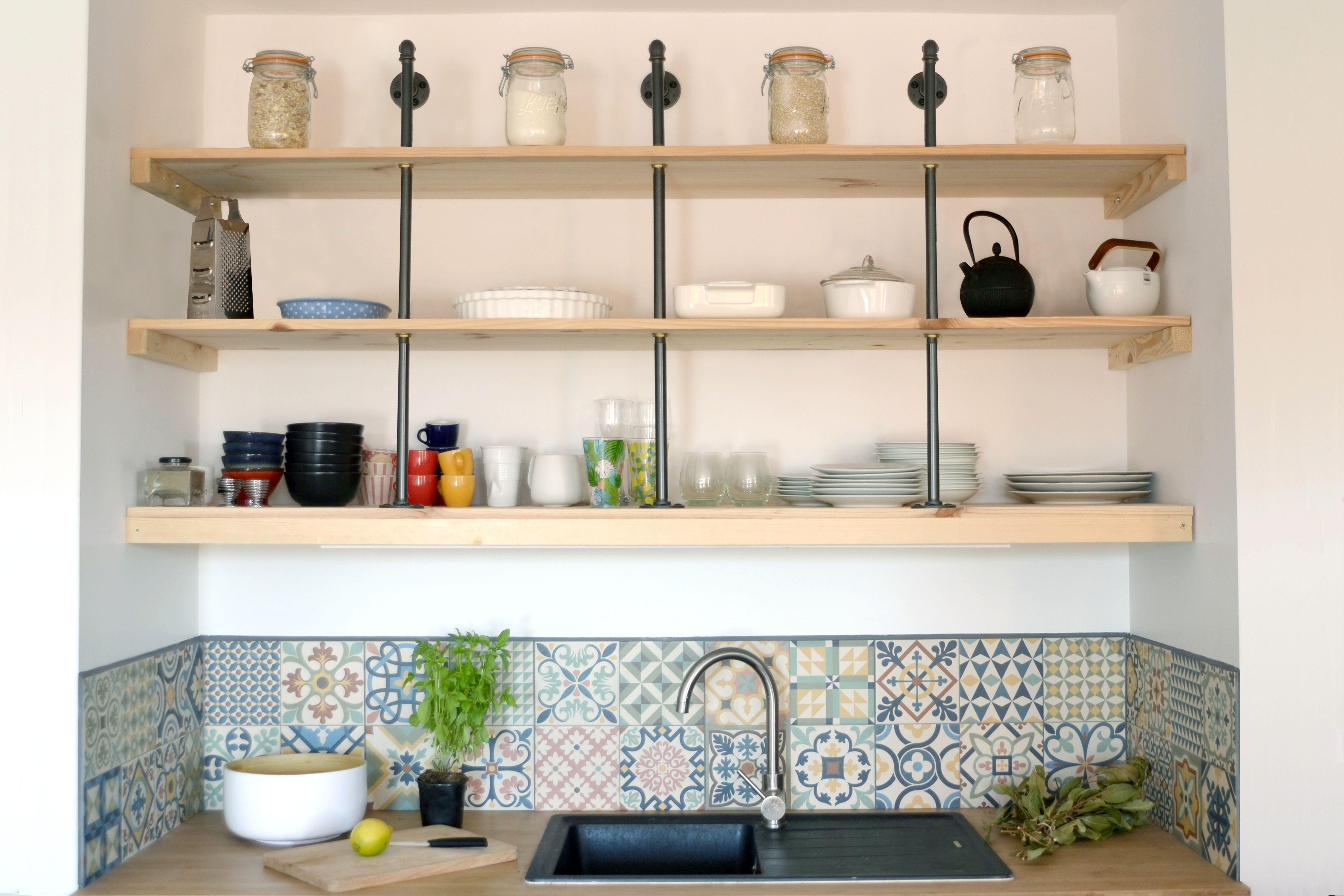 Étagère de cuisine DIY MEKALOFT