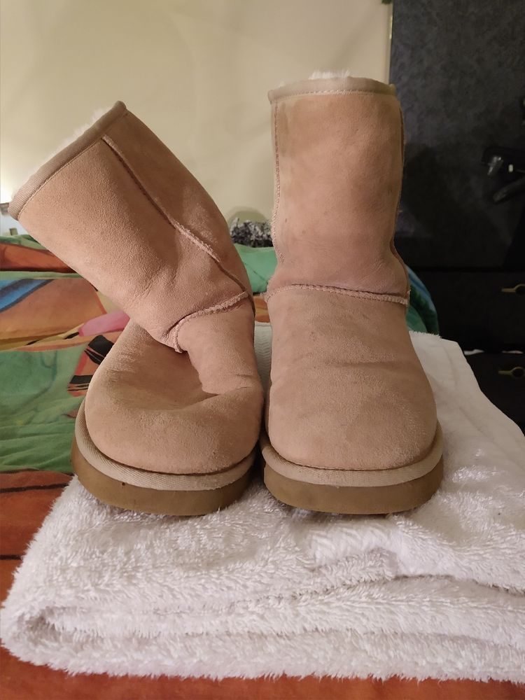 4e21c9996cd Womens Beige/Tan Ugg Boots size 10 #fashion #clothing #shoes ...