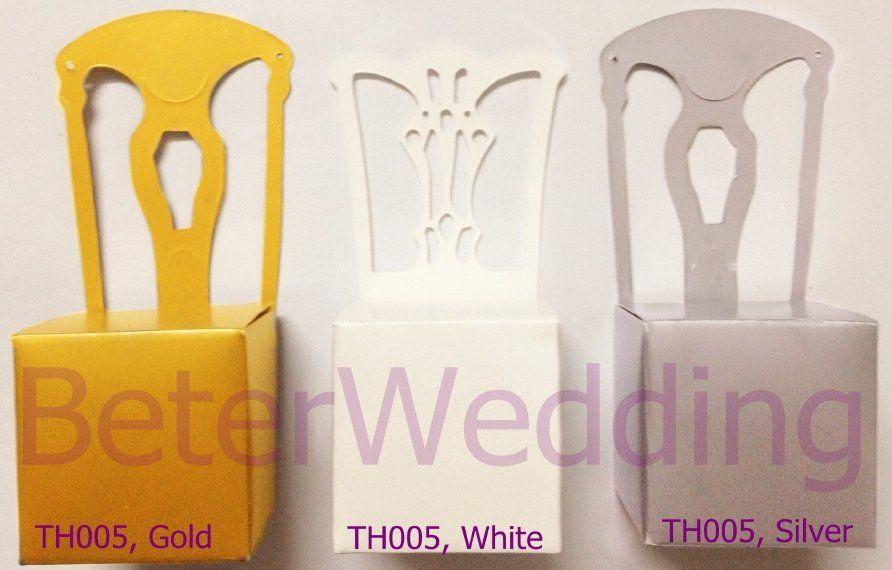 Photo of US $ 72.0 | Kostenloser Versand 168pcs Gold Miniature Chair Place Ca …