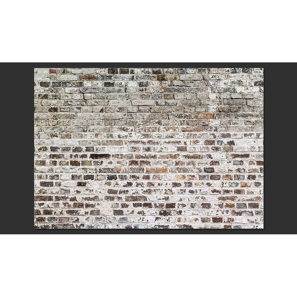 papier peint d co effet mur de briques mur de briques. Black Bedroom Furniture Sets. Home Design Ideas