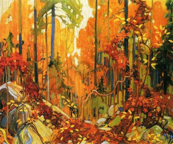 Autumn S Garland Tom Thomson In 2019 Canadian Art
