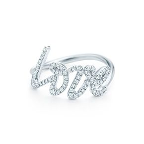 Paloma S Graffiti Love Ring Picasso White Gold And Diamond