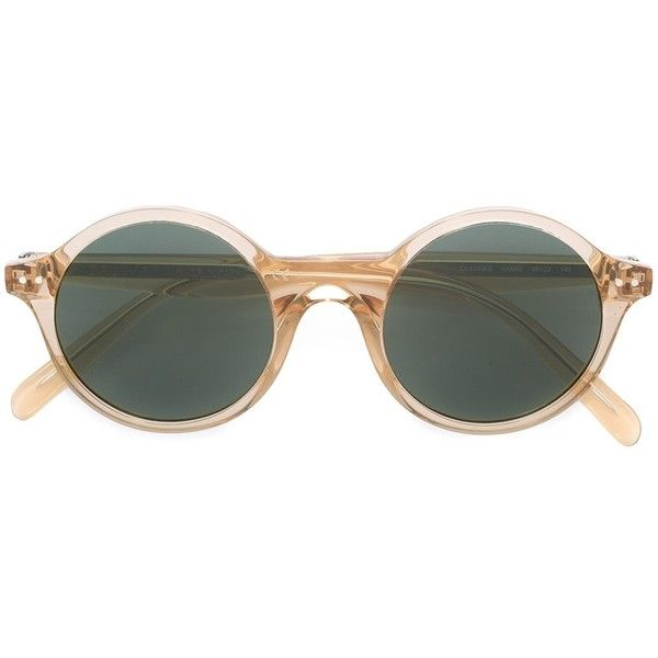 10addb5ce147 Céline Eyewear round transparent sunglasses ( 330) ❤ liked on Polyvore  featuring accessories