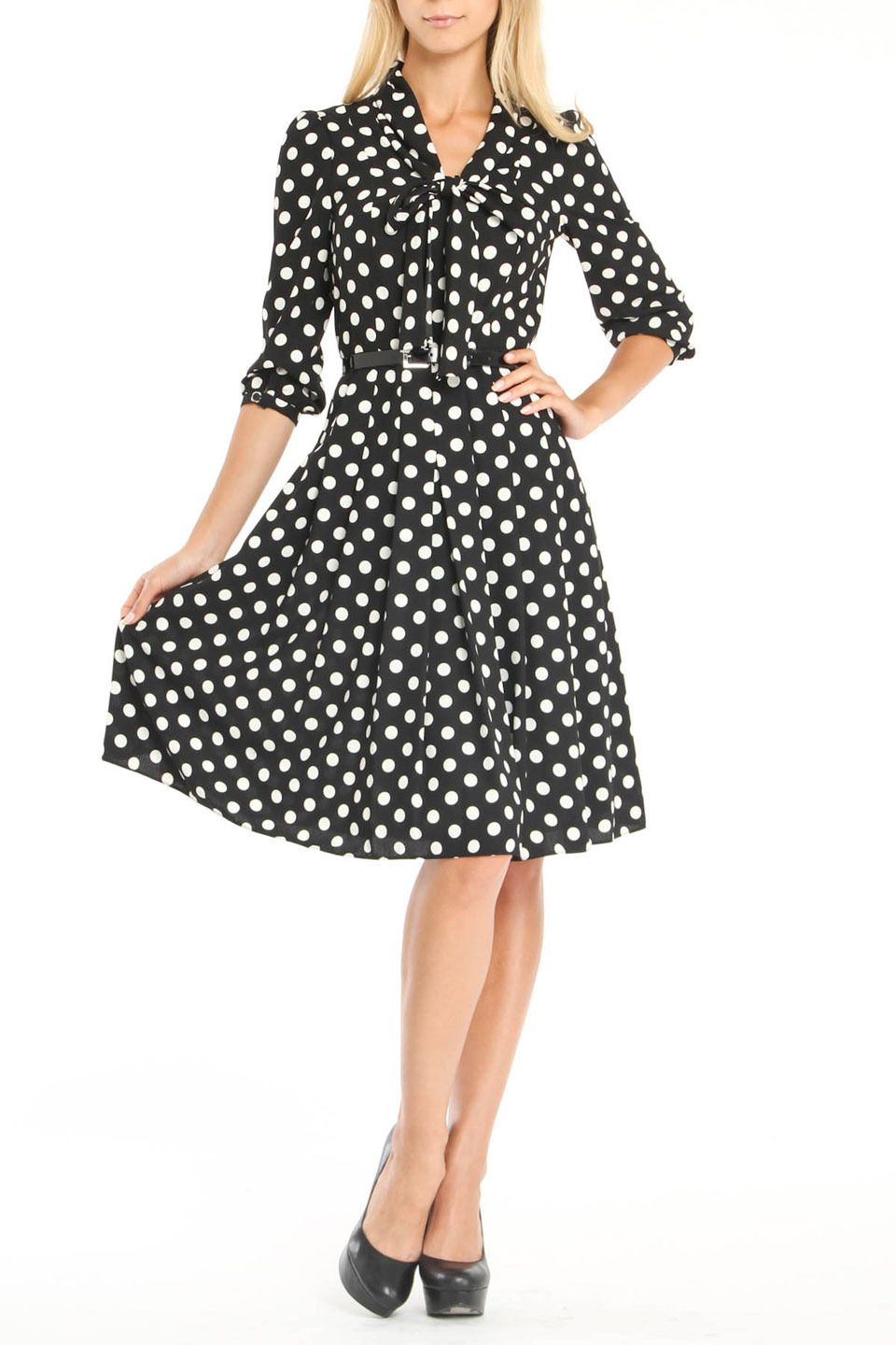 Crazy for polka dots.