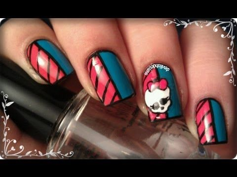 Monster High Nail Best Nail Designs 2018