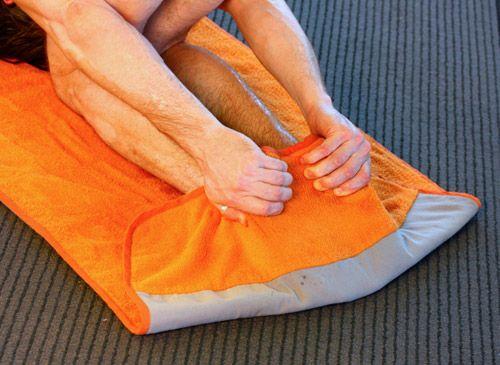 Rabbit Flap Yoga Mat Is An All In One Bikram Yoga Hot