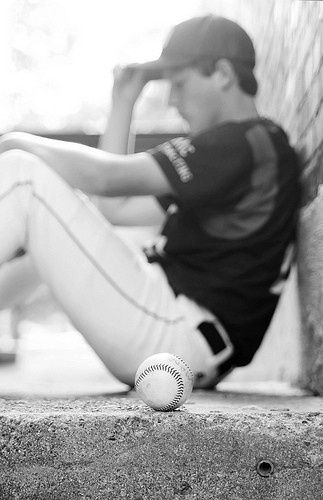 If you're a cute guy that plays baseball, you're an even cuter guy simply for that reason! Lol