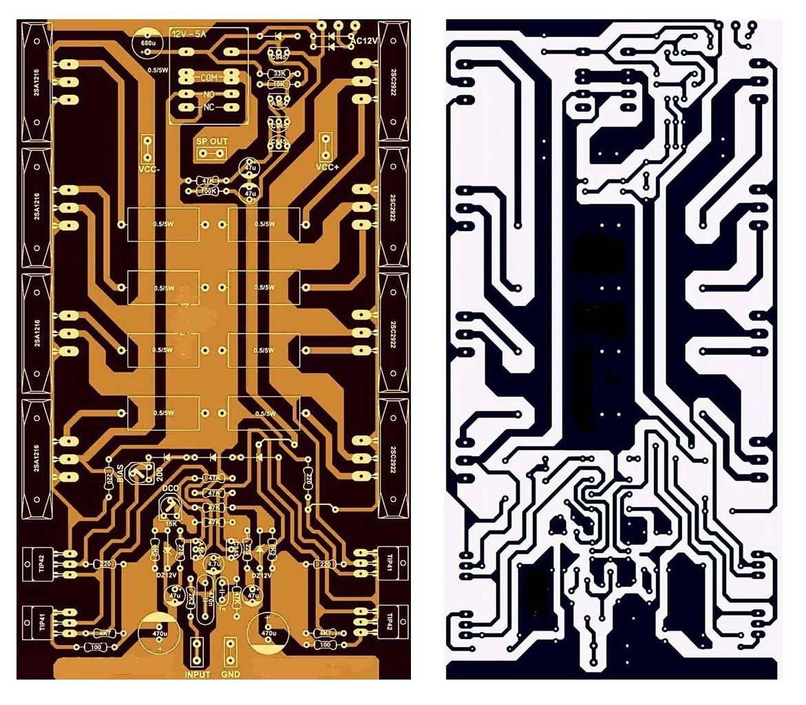Pcb Layout Design Electronic Circuit Shema In 2018 Pinterest How To Build A Board