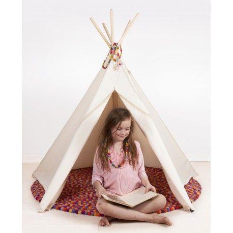 Roommate Hippie Tipi Zelt für das Kinderzimmer nature