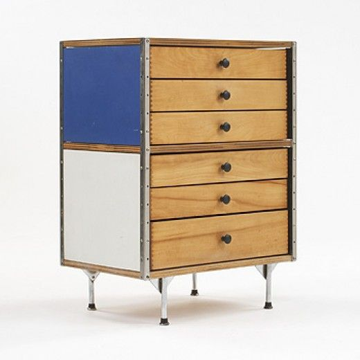 Charles and Ray Eames, #ESU 270-C Cabinet for Herman Miller, 1952 ...