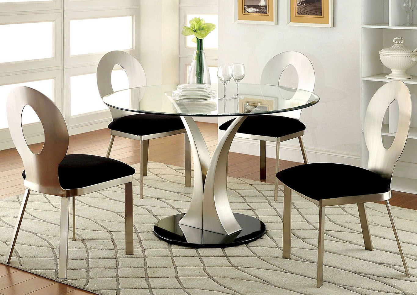 14 Good 3 Piece Stainless Steel Counter Set In Dining Room Design
