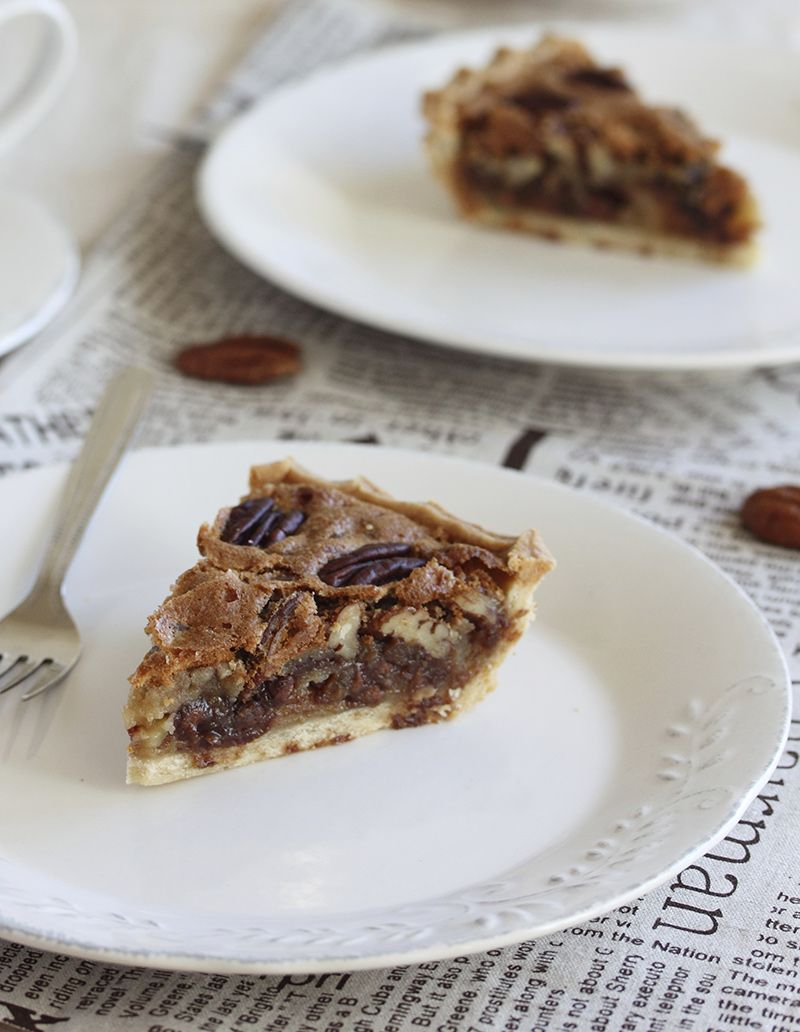 pecan pie made with Bitch Creek ESB #beer