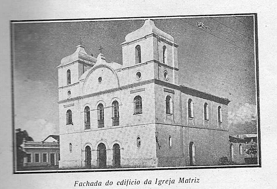 Fachada  da igreja matriz Juazeiro-BA