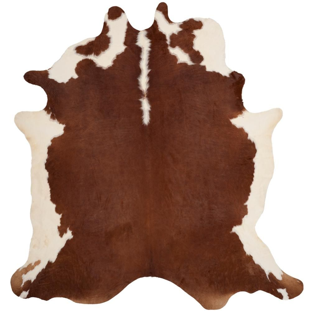Safavieh Cow Hide Brown White 6 Ft X 7 Ft Area Rug Area Rugs