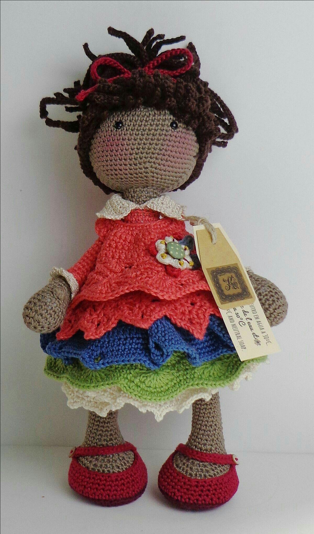 Pin de Pamela Hurlbert en Crocheted dolls | Pinterest | Muñecas ...