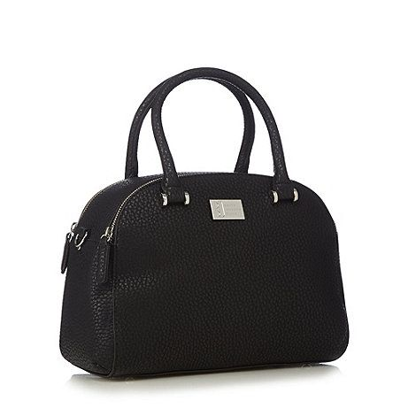 Betty Jackson Black Designer Mock Croc Dome Bag Debenhams