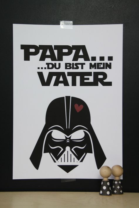 Dekoration Kunstdruck Darth Vader Star Wars Ein