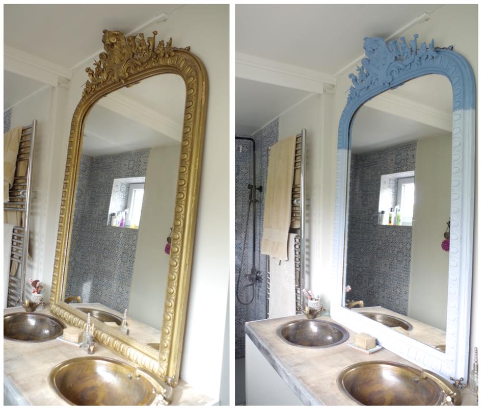 un miroir ancien mais tr s grand et les peintures http. Black Bedroom Furniture Sets. Home Design Ideas