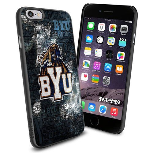 "NCAA-Brigham Young Cougars, iPhone 6 4.7"" Case Cover Protector for iPhone 6 TPU Black Rubber Case SHUMMA http://www.amazon.com/dp/B00Y5E3FT0/ref=cm_sw_r_pi_dp_jYbDvb1F8WR8W"