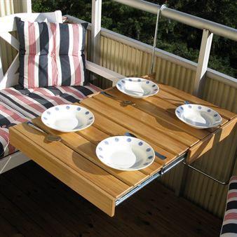 Flexitable Balcony Table From Dnice By Pher Viklund Balcony Decor Balcony Furniture Balcony