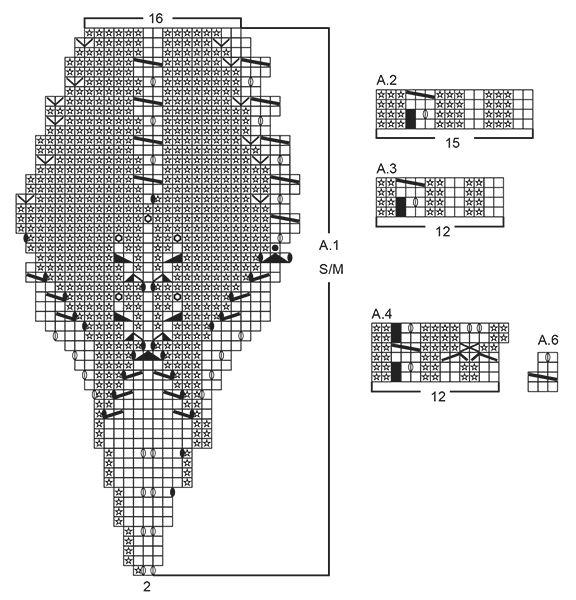 Conjunto que consiste de: Boina y cuello de punto DROPS con patrón ...
