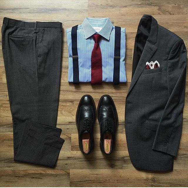 #SuitGrid by  @quintessentialgent_ ________________________________________  @inisikpe for daily style/advice #SuitGrid to be featured  IniIkpe.com for fashion updates and more ________________________________________ Tap For Brands  Suit: @tmlewin Shirt: @charlestyrwhitt Tie: @hqmenswear Shoes: @colehaan