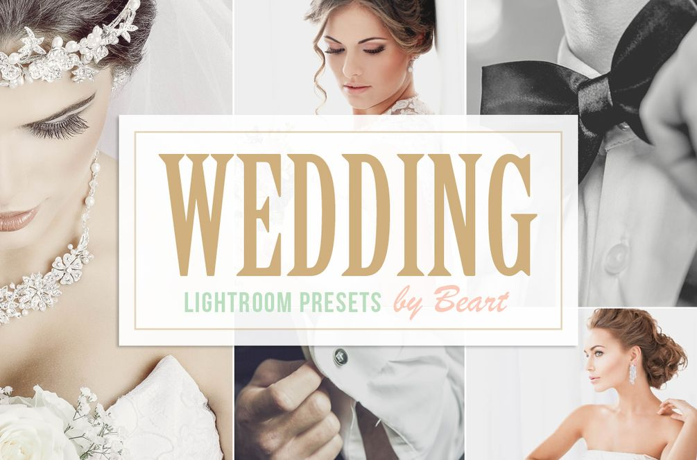 5 Free Lightroom Wedding Presets Lightroom presets