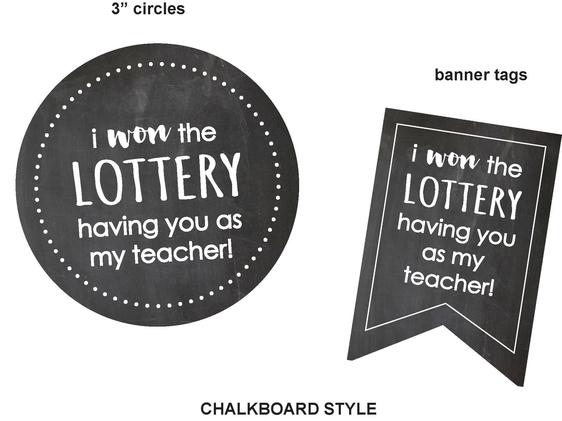 Chalkboard TeacherCoWorker Gifts Teacher Appreciation Thank